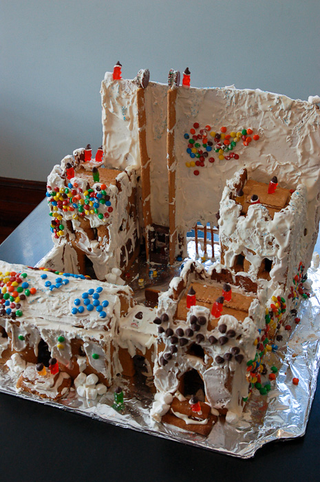 Castle Black gingerbread
