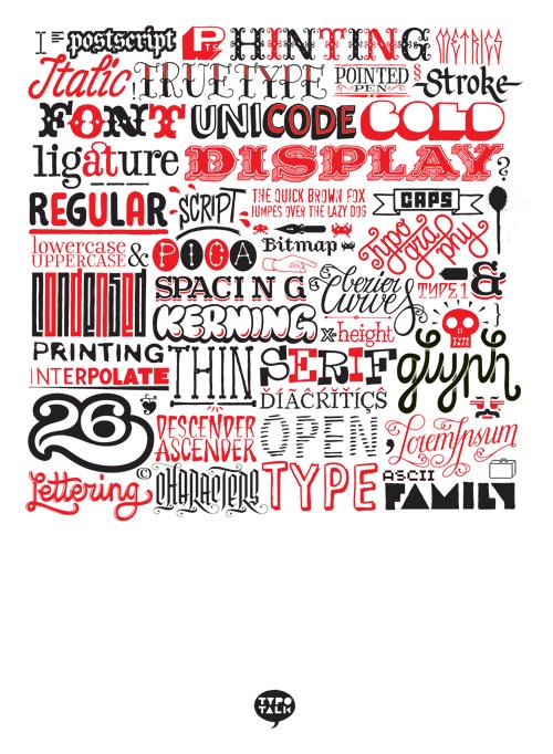 Custom letters 2009