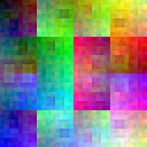 allRGB portrait of the Hilbert curve