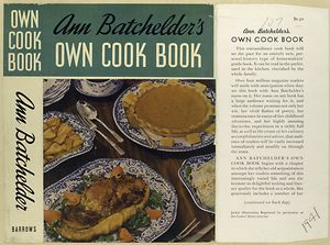 Cover of Ann Batchelder's Own Cookbook