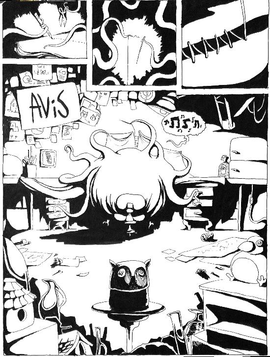 Ben's Avis comic