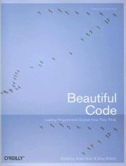 Cover of Beautiful Code: blue with birds