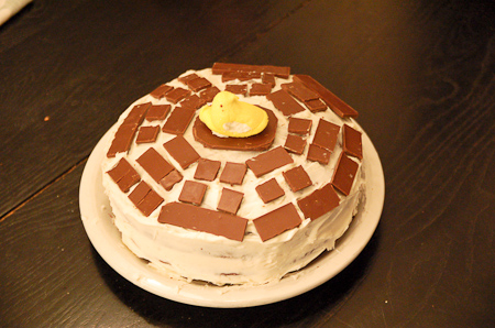 Dharma logo cake