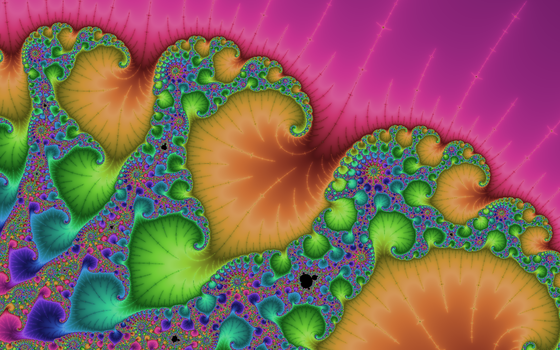 Colorful mandelbrot