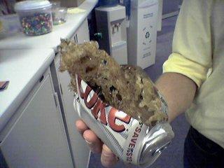Exploded soda