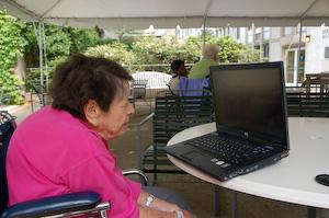 Grandma O at the nursing home