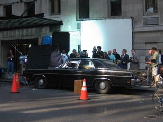 Richard Gere in a car