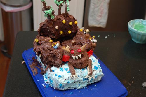 Inferno cake