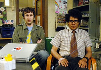 Roy and Moss from The IT Crowd