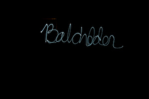 My name in lights