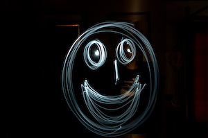 Light smiley