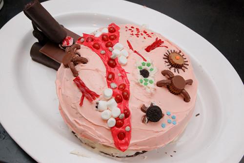Microbe cake