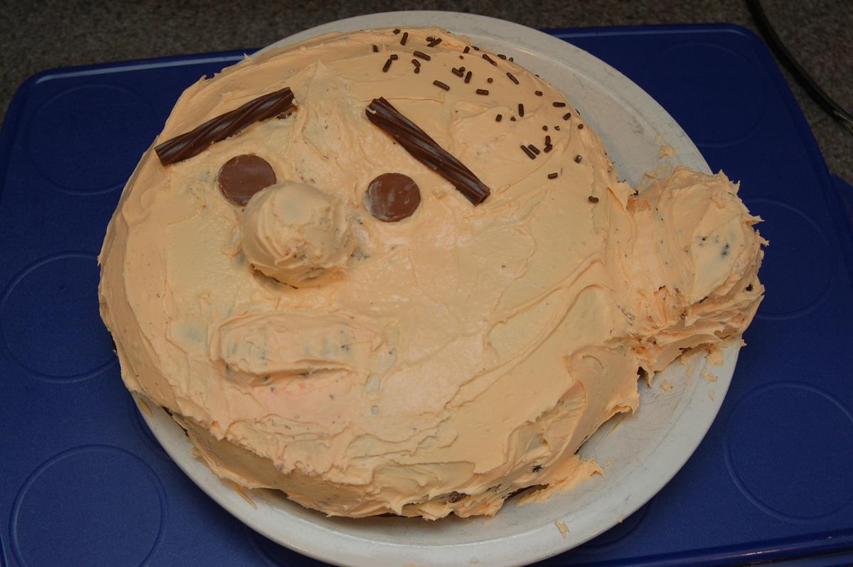 Karl Pilkington Birthday Cake