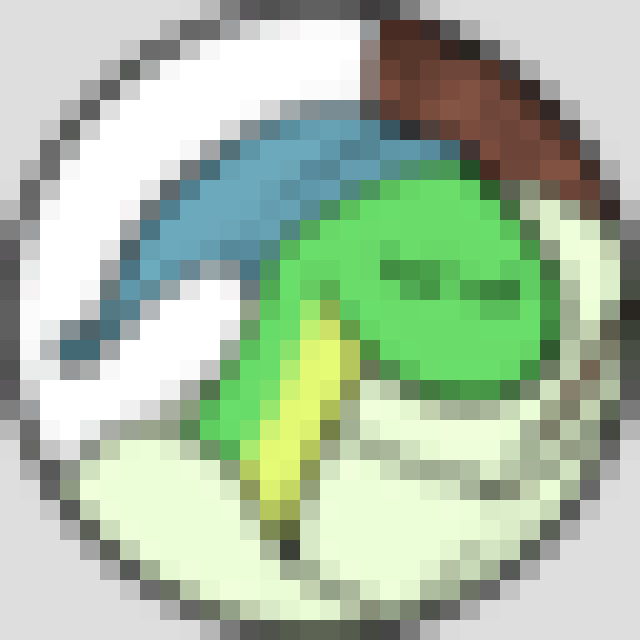 32-pixel rendering of Sleepy Snake