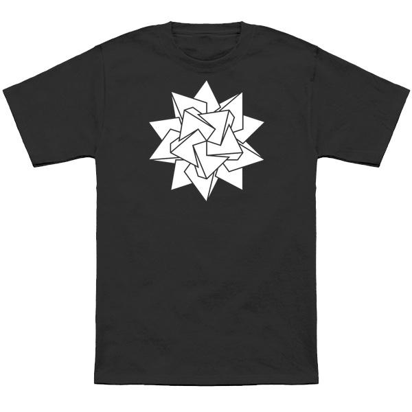 Stellated icosahedron t-shirt