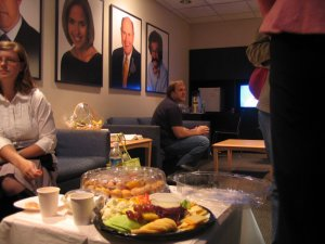 The Today Show green room