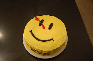 Watchmen cake
