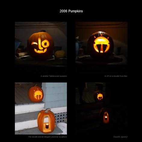 Tabblo: 2006 Pumpkins