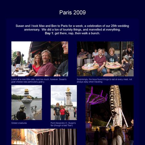 Tabblo: Paris 2009