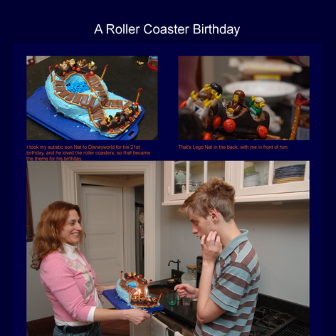 Tabblo: A Roller Coaster Birthday