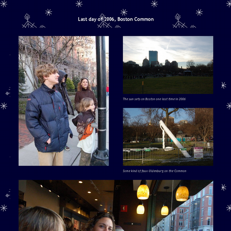 Tabblo: Last day of 2006, Boston Common