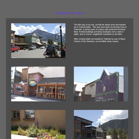 Tabblo: Colorado Trip: Day 3