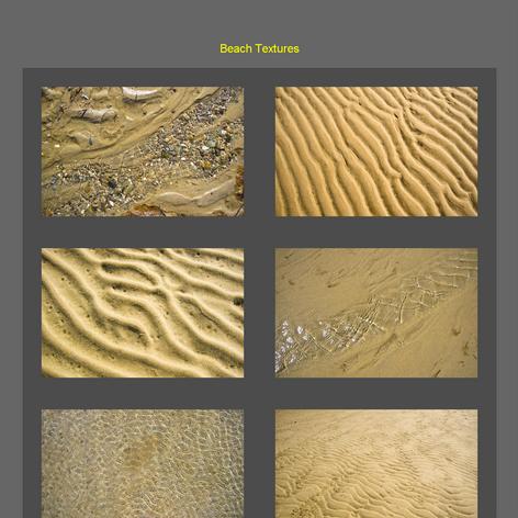 Tabblo: Beach Textures