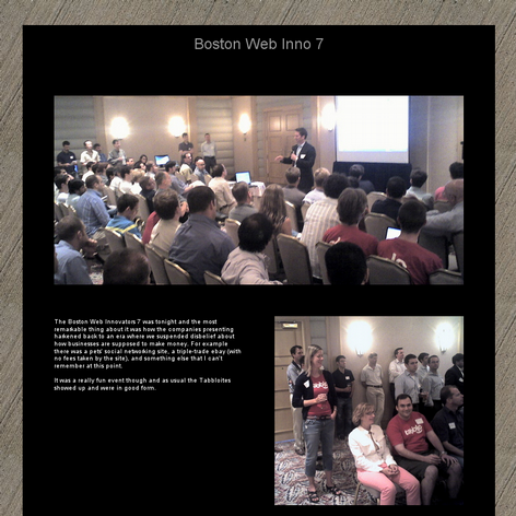 Tabblo: Boston Web Inno 7