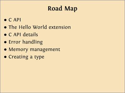 Ned Batchelder: A Whirlwind Excursion through Python C